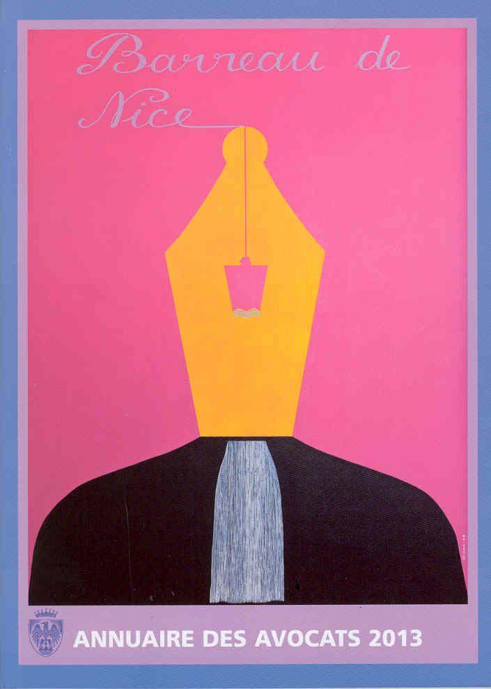 Illustration pour l'Annuaire des avocats 2013, Jean-Jacques NINON