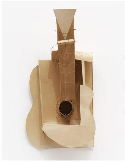 Pablo Picasso, Guitar, Paper Construction