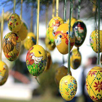 Pääsiäismunia, Pääsiäinen