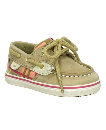 Baby Sperrys: I bought these as soon as I found out I was pregnant! I can't wait to find out what they are so I can buy a matching pair for the other one :)