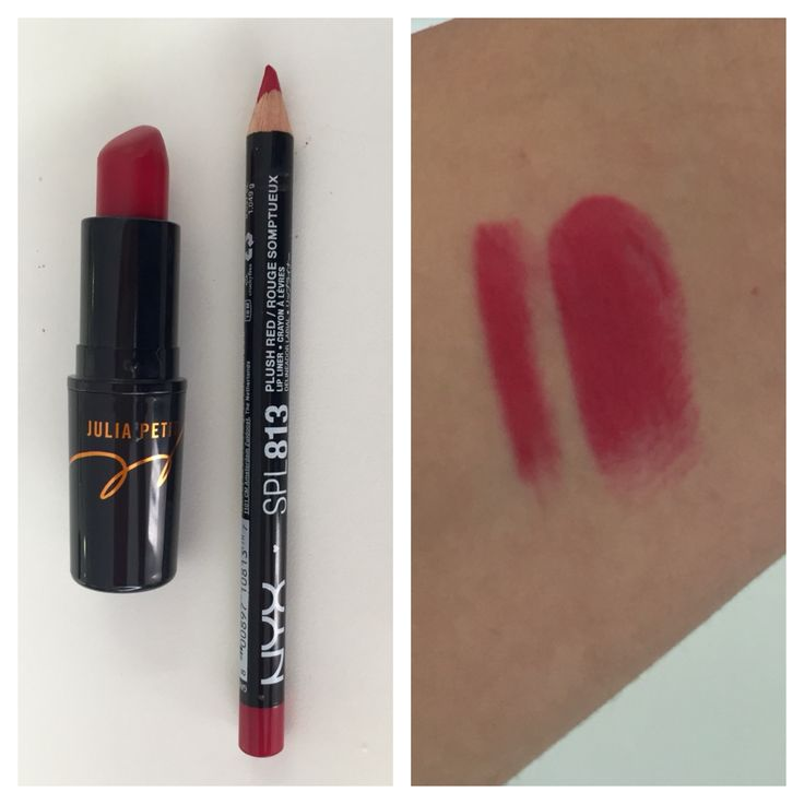 Dupe for Petite Red (MAC Julia Petit Collection), NYX 813 Lip Pencil