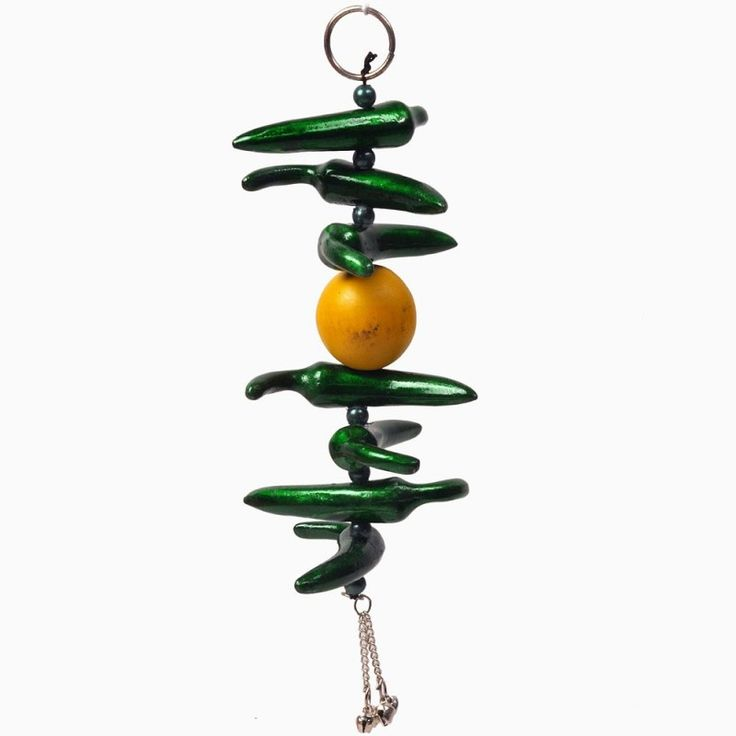 Lemon Green Chilly Wall Hanging in White Metalhttp://goo.gl/IBMmfY