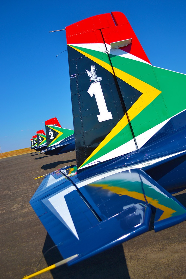 Aerobats team in Newcastle, South Africa