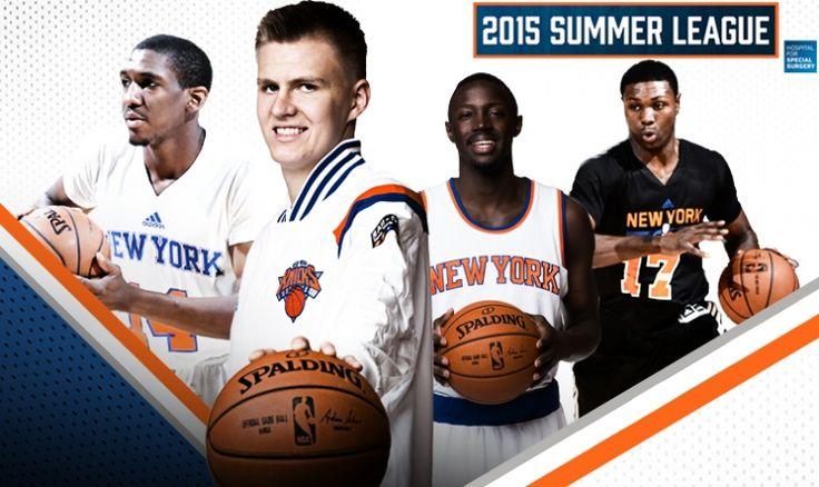 Knicks Summer League Roster Announced | New York Knicks | New york knicks. New york knickerbockers. Knicks