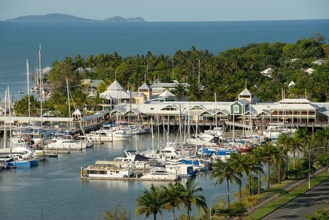 Marina Mirage Port Douglas, catch a boat, have lunch, drink a cocktail, do some retail therapy.