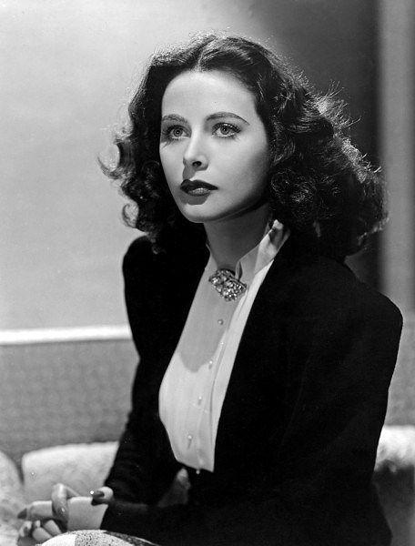 "gatabella: ""Hedy Lamarr"""