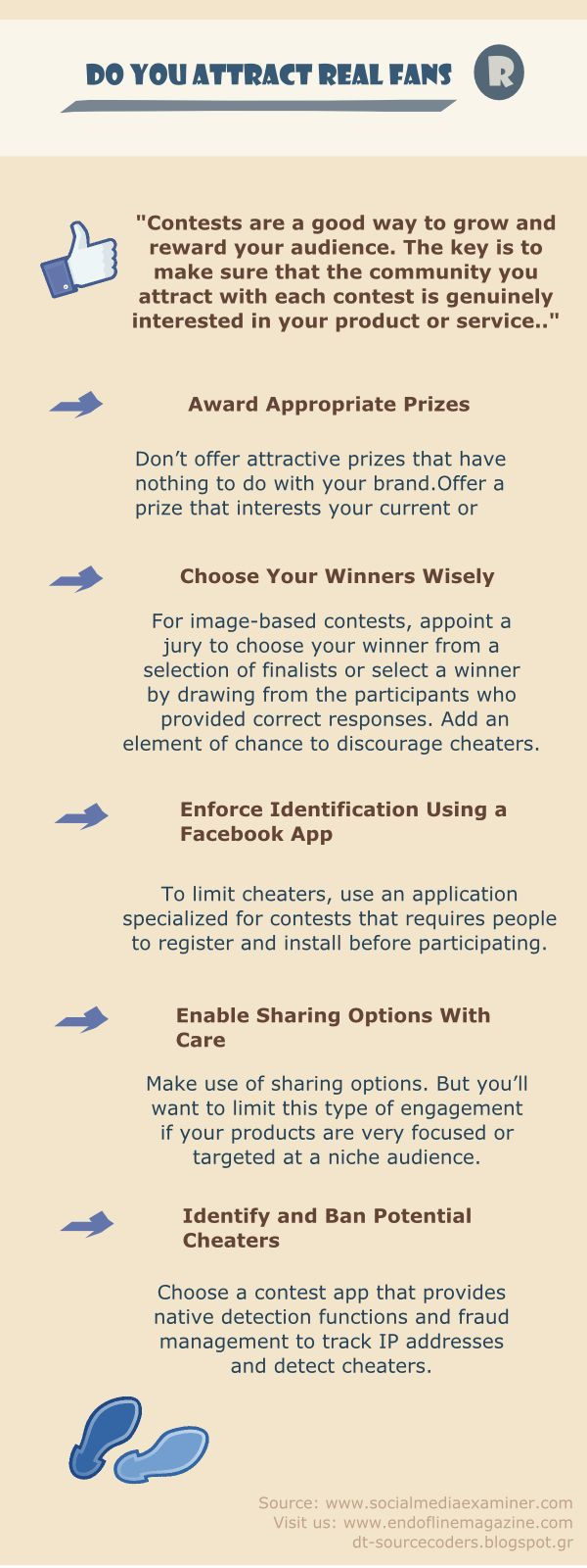 Infographic: Do you attract real fans to your social media profile? | Social Media, Software, Web on End of Line Magazine