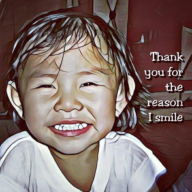 #genuine #babysmile #thankyou #momlife