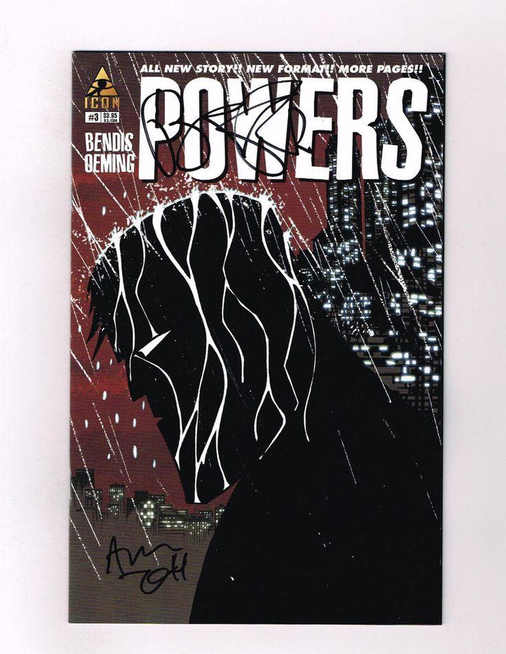 POWERS (V3) #3 Signed by Brian Michael Bendis & Michael Avon Oeming! NM  http://www.ebay.com/itm/-/301796422783?roken=cUgayN&soutkn=y2noSs