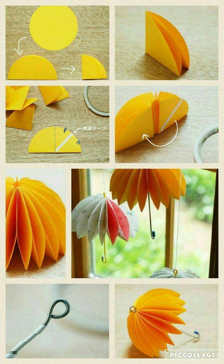 Paraplu van Papier – #papier #paraplu #van