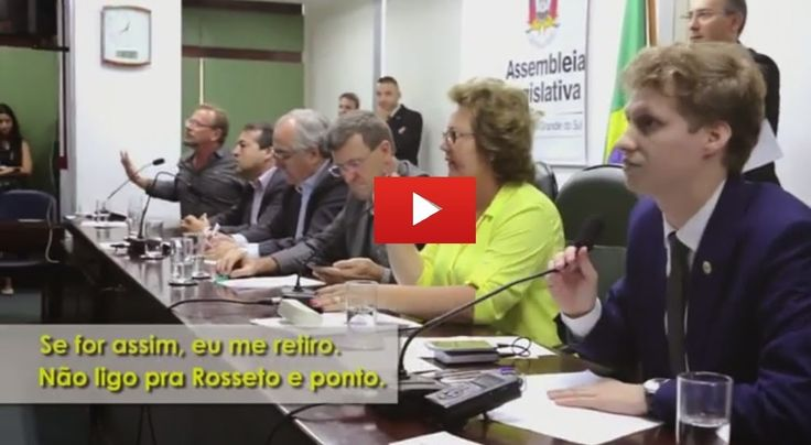 Go Tropa News: O clima esquenta, em audiência pública com caminhoneiros em Porto Alegre. [VÍDEO]