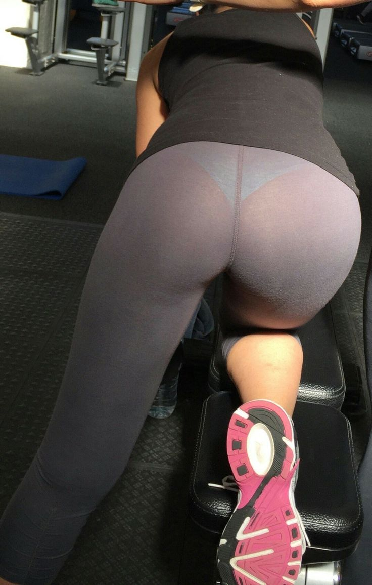 sexy girls in see through yoga pants having sex
