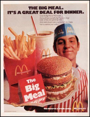 40 best old McDonalds ads images on Pinterest | Vintage ...