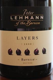 2008 Peter Lehmann Layers Barossa Red - An Intriguing Blend of Five Grapes. $12