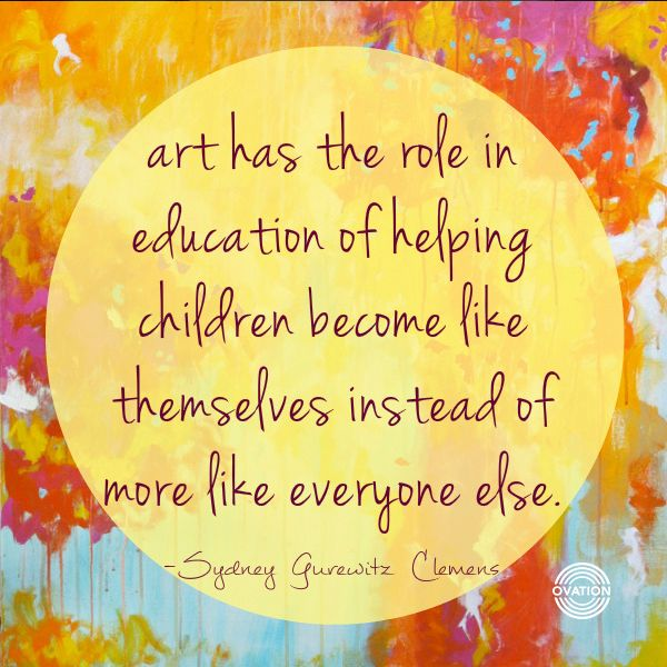 The Importance of Art Education article by artist and art Teacher Katie Wall Podracky on Keep Forever Box