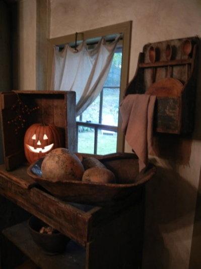 Jack O' Lantern...it's October Thyme.