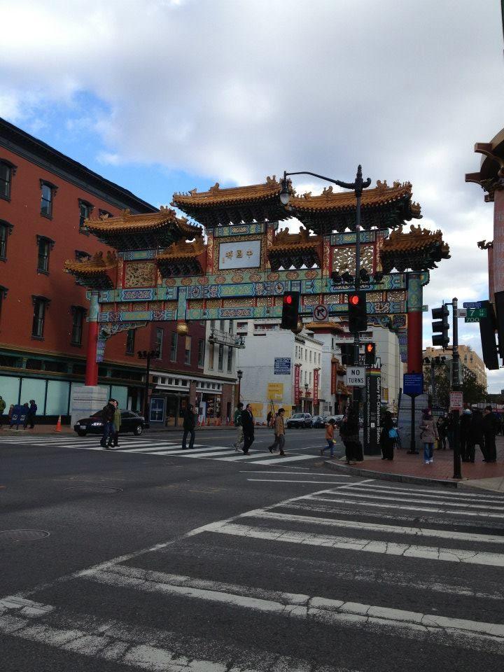 China Town. Washington D.C.