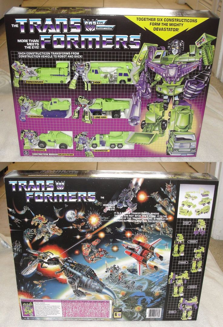 Transformers and Robots 83732: Transformers Devastator Mib! G1 Version Decepticon Giftset In The Usa! -> BUY IT NOW ONLY: $94.99 on eBay!