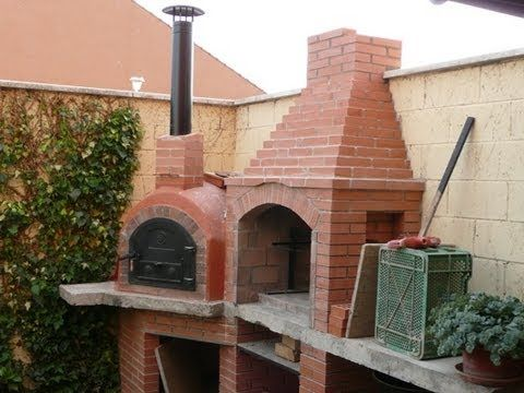 21 best images about como construir una barbacoa on - Construccion de un horno de lena ...