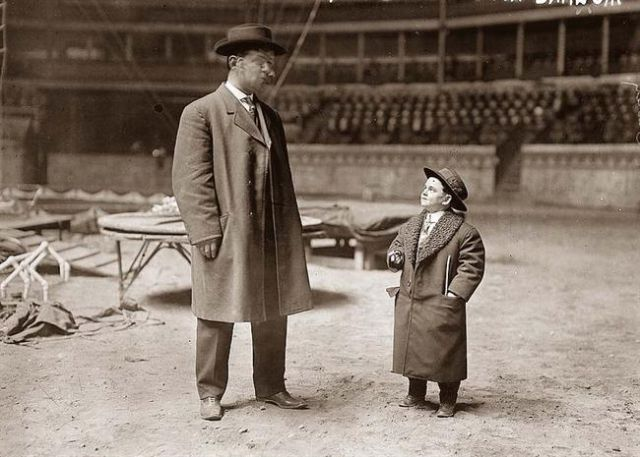 Barnum and Bailey circus photo
