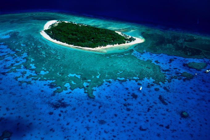 Lonely Planet named this one of the '10 most beautiful places in the world to wake up in,' and boy do we agree. Lady Musgrave Island, Great Barrier Reef, Queensland. Camping on that beach looks like a dream come true.