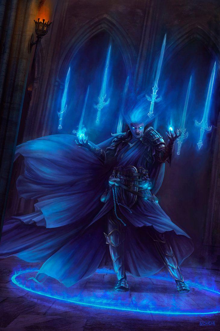 Swordmage by Steves3511.deviantart.com on @DeviantArt