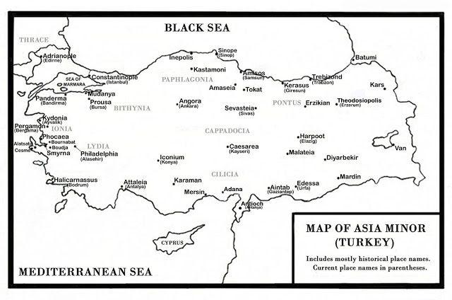 Santeos: Asia Minor