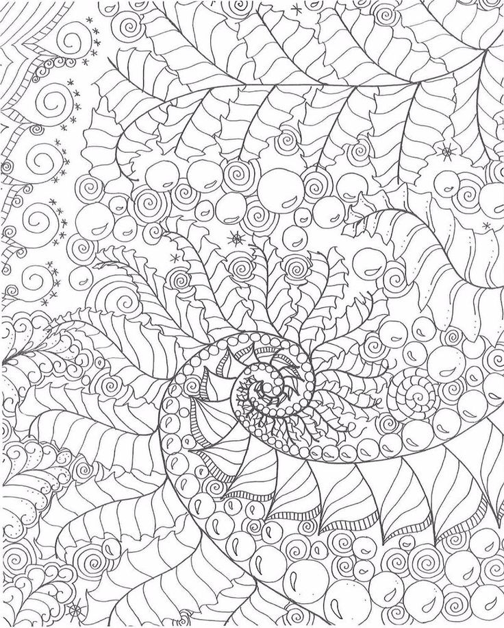 Adult Coloring Books Doodle Art Stress Relieving Designs Color Relaxation Gift