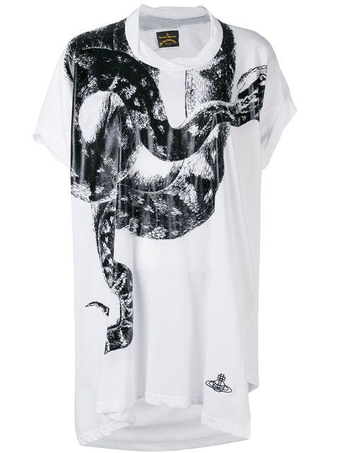 Vivienne Westwood Anglomania  snake T-shirt.