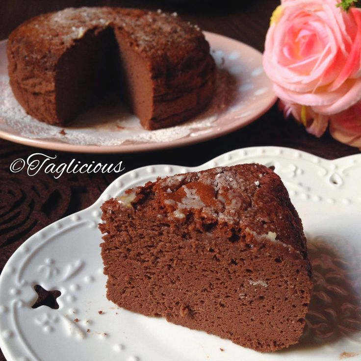 TAGlicious: Simple 3 ingredients ~ Japanese Cotton cheesecake white or chocolate