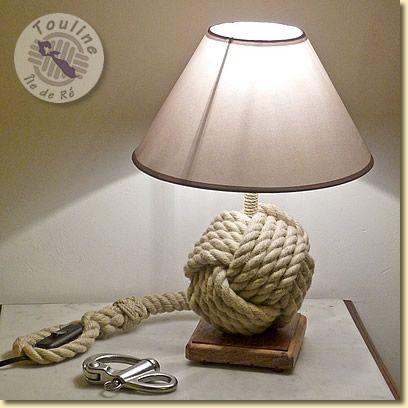 Lampe pomme de touline                                                                                                                                                                                 Plus