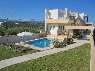 Modern And Stylish Villa, Close To Beach And Tavernas. Sea Views Holiday Rental in Sfakaki from @HomeAway UK #holiday #rental #travel #homeaway