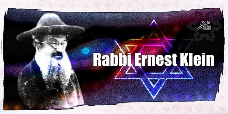 Rabbi Ernest Klein (1899-1983) celým menom Ernest David Klein sa narodil 26. júla 1899 v Szatmárnémeti dnešný Satu Mare, Partium región Rakúska-Uhorska ...