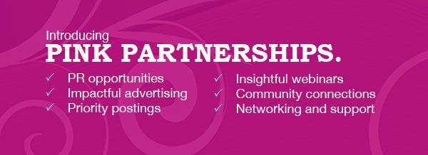 Our Pink Partnership program.  This, and so much more!  Join us today!