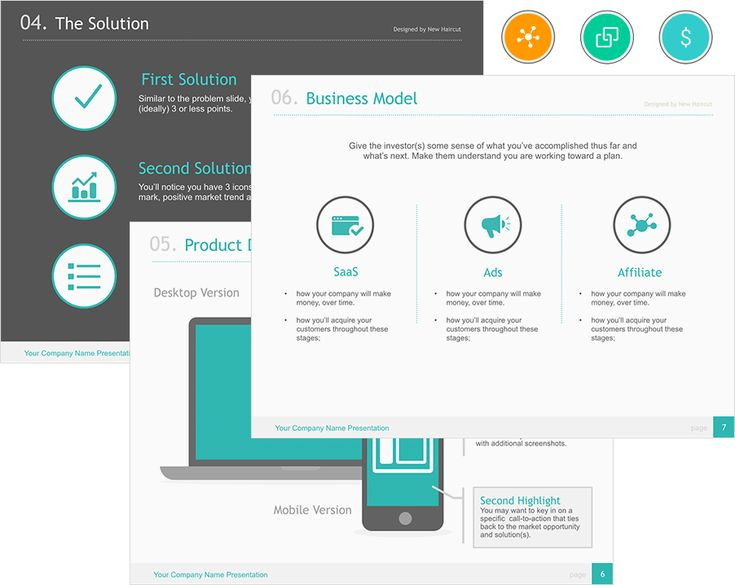 8 best pitch layout inspiration images on pinterest layout universal pitch deck eight powerpoint template on behance toneelgroepblik Image collections