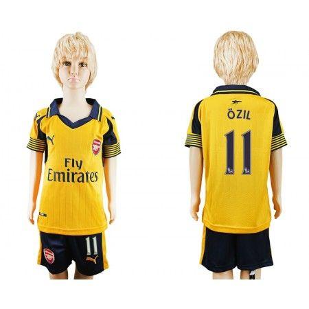 Arsenal Trøje Børn 16-17 Mesut #Ozil 11 Udebanetrøje Kort ærmer,199,62KR,shirtshopservice@gmail.com