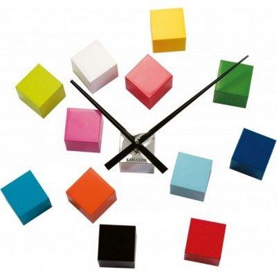 les 25 meilleures id es de la cat gorie horloge murale design sur pinterest horloge murale. Black Bedroom Furniture Sets. Home Design Ideas