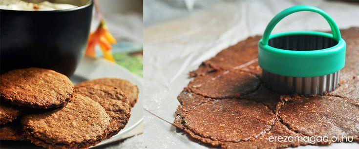 Diétás kakaós-kókuszos keksz – cukormentes, egészséges kekszek