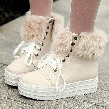 Women's Shoes Snow Boots Round Toe Low Heel Ankle Boots More colors available - AUD $ 37.79