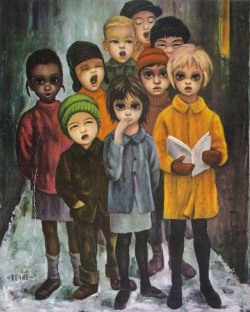 """BIG EYES MOVIE IS COMING, DANNY ELFMAN SCORE. """"Peace On Earth"""" ~ Margaret Keane, 1961"""