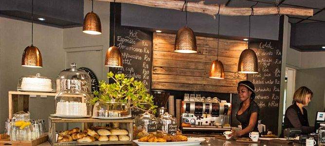 The Daily Coffee Café in Paarl - 45 minutes from Cape Town - South Africa