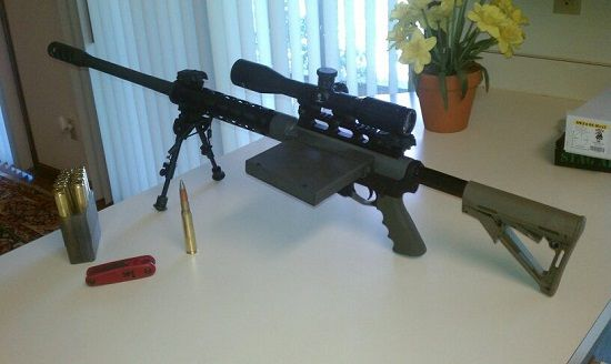SHTF 50 BMG Upper Conversion For Your Ar-15