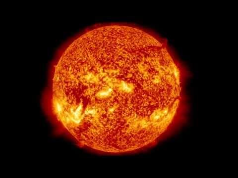 La plus incroyable éruption solaire jamais enregistrée - YouTube