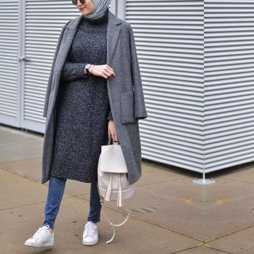 Modest hijab outfits for winter – Just Trendy Girls