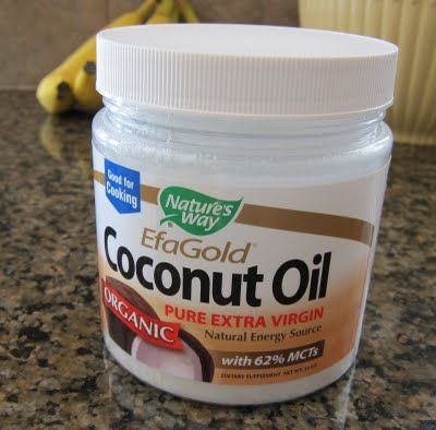 Coconut oil instead of butter, oil, or shortening.  Healthier.... it is a straight across substitution for butter and oil, but with shortening you may get better results if you reduce it a forth. So if the recipe calls for one cup shortening, you would use 3/4 cup coconut oil.
