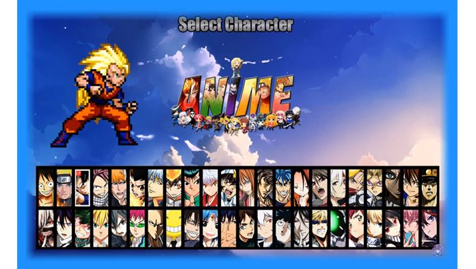 Anime Battle Climax Mugen Download Anime Free Games Battle