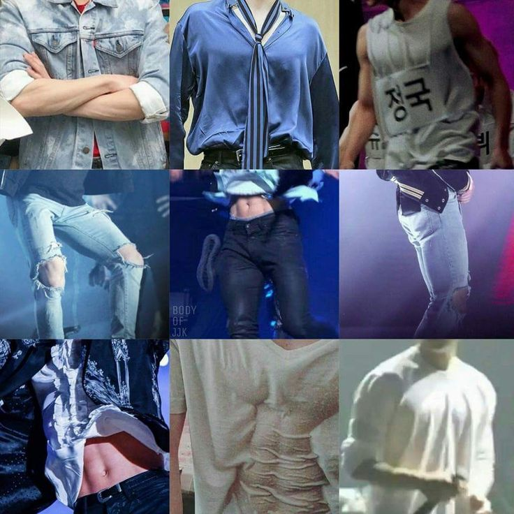 Jungkooks body appreciation post