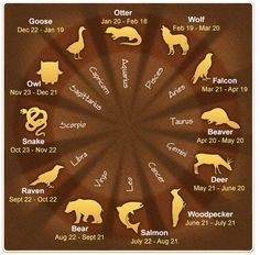 Like Western astrology, the Native American astrology also has 12 animal totems. In their astrological chart, one year is divided into four important sections (or clans)―North Wind (Winter), East Wind (Spring), South Wind (Summer), and West Wind (Fall). Each clan consists of three zodiac animals. The following chart will give you a quick view at […]