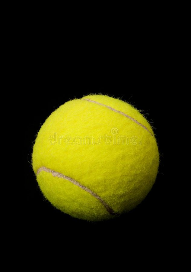 Tennis Ball A Yellow Tennis Ball Isolated On A Black Background Affiliate Yellow Ball Tennis Tennis Background Ad Tennis Ball Tennis Ball
