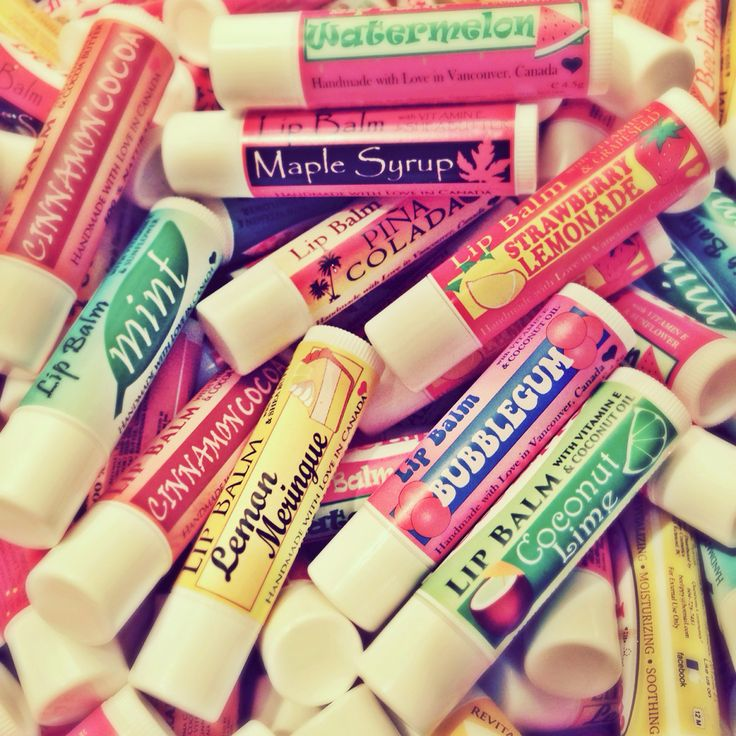 We love to keep your lips moisturized so you can smile all day long!